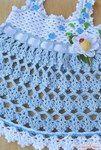 Мобильный LiveInternet Голубой сарафанчик - крючком. Голубой костюмчик для малыша -крючком   mila60 - Дневник mila60  