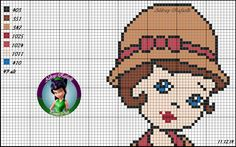 MENININHA Pixel Crochet Blanket, Cross Stitch Fairy, Easter Crafts, Beading Patterns, Cross Stitch Patterns, Canvas, Stitch 2, Knitting, Mini Cross Stitch