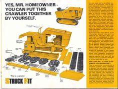... Chalmers Garden Tractors) - Struck Magnatrac Mini Dozer / Crawler 1975