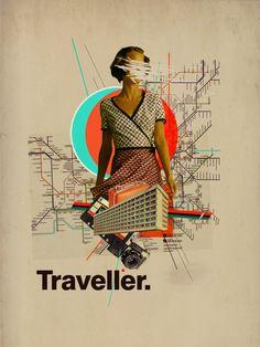 Traveller by Frank Moth