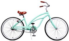 Special Offers - Fito Womens Marina Aluminum Alloy 1-Speed Beach Cruiser Bike Mint Green 15.5 x 26/One Size - In stock & Free Shipping. You can save more money! Check It (June 14 2016 at 03:56PM) >> http://cruiserbikeswm.net/fito-womens-marina-aluminum-alloy-1-speed-beach-cruiser-bike-mint-green-15-5-x-26one-size/