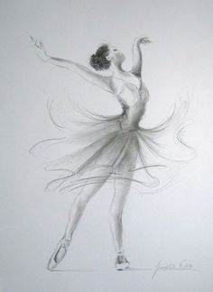 Dancing Ballerina - I love the dress.