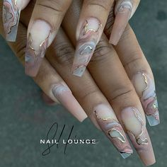 Acrylic Nail Designs Coffin, Bling Acrylic Nails, Summer Acrylic Nails, Best Acrylic Nails, Claw Nails, Aycrlic Nails, Dope Nails, Tapered Square Nails, Finger