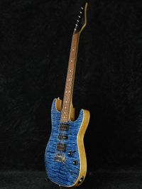 "Suhr Standard - Chambered ""Trans Whale Blue - Natural back"""