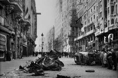 Gran Vía, Madrid, noviembre de 1936, por LRM.