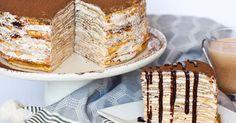 Tiramisu torte z palaciniek rozhodne neodoláte! V každom súste sa zmiešajú chute kávy, kakaa a jemného krému. Tiramisu torta z palaciniek. Recept, dezert
