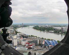 Vista da Catedral de Colônia, Colônia/ALE Portfólio de 21.11.2015.