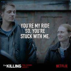 The Killing, Holder + Linden