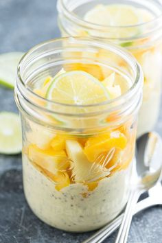 Mango Lime Chia Pudding | Get Inspired Everyday!