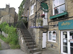 Holmfirth - Last of the Summer Wine - Nora Batty's and Compo's by Faversham 2009, via Flickr