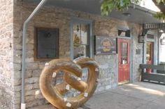 Julius Sturgis Pretzel Bakery - Lititz, PA  Completed their official pretzel twisters certificate.