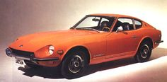 1970 Datsun 240Z -- I love all these old Japanese sports cars.