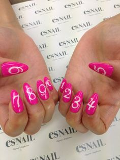 rember when u were litttle and u would count ur fingers in math well these nails help with that