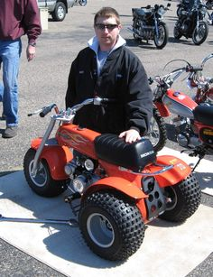 Honda ATC70 - Reminds me of the one I rode back in the day!