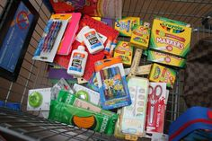 We donated school supplies to the Colorado Coalition for the Homeless. #BagItForward