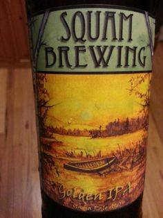 Squam Brewing Indian Pale Ale