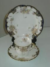 STUNNING HANDPAINTED ANTIQUE AYNSLEY PORCELAIN CUP, SAUCER & SIDE PLATE TRIO