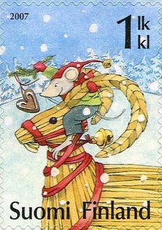 ♥ ◙ Finland, Christmas Postage Stamp. ◙