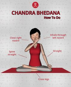 ( Pranayama reduce the body heat. Useful in heart burning problems. Effective in high blood pressure.Useful in fever. Yoga Breathing Techniques, Deep Breathing Exercises, Pranayama, Namaste Yoga, Yoga Meditation, Learn Yoga, How To Do Yoga, Yoga Poses For Beginners, Yoga For Kids