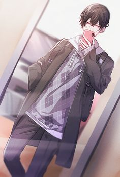 Hot Anime Boy, Cute Anime Guys, Anime Art Girl, Persona Anime, Cool Anime Pictures, Fantasy Art Men, Handsome Anime Guys, Anime Oc, Manga Boy