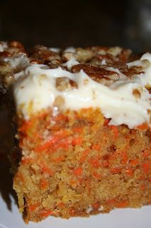 Carrot Cake From Scratch ~ This cake is wonderful... Delicious and very moist!