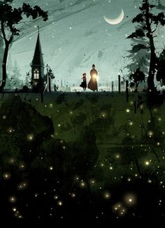 Love this illustration! anne of green gables illustration by hanuol 3d Fantasy, Anne Of Green Gables, Nocturne, Pics Art, Children's Book Illustration, Halloween Illustration, Illustrators, Cool Art, Concept Art
