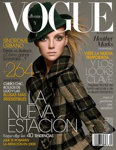 Heather Marks by Paola Kudacki Vogue Mexico September 2007