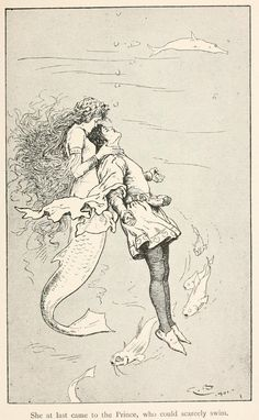 ✯ The Sea Maiden ~ Fairy tales from Hans Andersen ..1906.. Illustrations .. By Gordon Browne✯