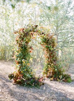 Your wedding flowers are a fundamental part of your wedding ceremony. But before deciding, there happen to be factors you'll need to realize. Discover how to choose the best flowers for your very special day. Wedding Arbors, Wedding Ceremony Backdrop, Ceremony Arch, Ceremony Decorations, Wedding Shoot, Fall Wedding, Wedding Decor, Wedding Aisles, Wedding Notes