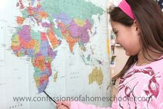 South Africa Unit Study from Confessions of a Homeschooler