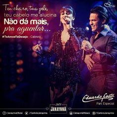 MT sertanejos - O Seu site da Música sertaneja!: Janaynna com  Part. de Eduardo Costa - Te Amo e Te...