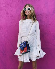 White dress – Emili Sindlev