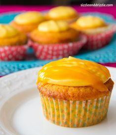 Drool worthy mango cupcake