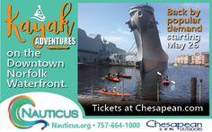 Gift Certificates!Tours CalendarCamps Calendar  Kayak Tours     Dolphin    Enjoy the thrill of