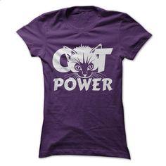 CAT POWER - #shirt skirt #tshirt makeover. ORDER HERE => https://www.sunfrog.com/Pets/CAT-POWER-Ladies.html?68278