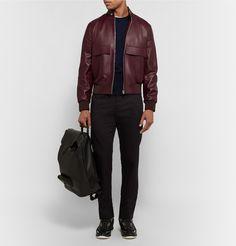 Paul Smith - Leather Bomber Jacket