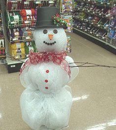 Mesh Snowman