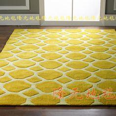 2016 последних европейских мода ковры, В гостиную в спальню ковер, Желтый классическая акриловые мат купить на AliExpress