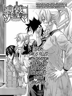 SHOKUGEKI NO SOMA CHAPTER 205 #manga #mangafreak #shokugekinosoma updated chapter at Mangafreak
