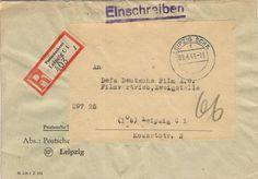 Postscheckamt Leipzig 09-04-1949