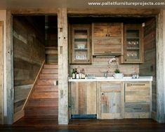 Pallet Wood Kitchen