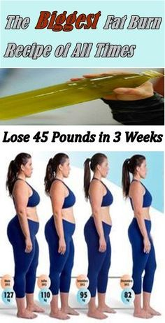 The Fastest Way to lose 45 pounds in a month