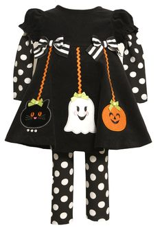 Adorable Baby Girl Halloween Outfits