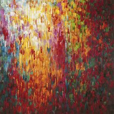 Confetti Wall Décor Oil Painting Canvas