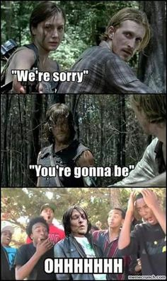 The Walking Dead Memes - Crazy Rick Grimes A Taking walks Dead and Influence on Our Culture Walking Dead Funny Meme, Walking Dead Show, Walking Dead Pictures, Fear The Walking Dead, Walking Dead Zombies, Walking Dead Coral, Walking Dead Quotes, Z Nation, Daryl Dixon