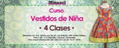 Curso de Vestidos de Niña (4) modelos distintos más información: www.minauri.com