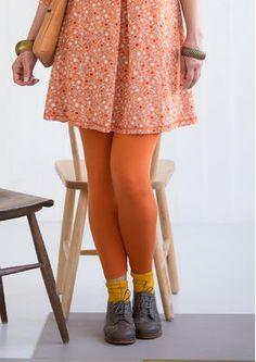 vogelbeere (orange hell) Leggings aus Micromodal/Elasthan 44 EUR