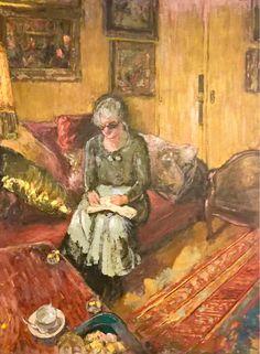 Edouard Vuillard, Madame Hessel in the Boudoir, Rue de Naples