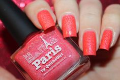 "Swatch of the nail polish ""Paris"" from Picture Polish by diamant sur l'ongle"