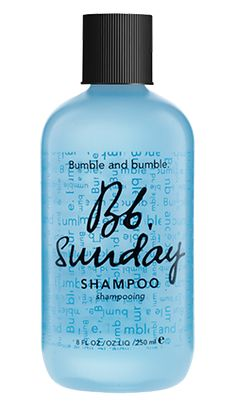 sunday shampoo – A weekly (any day) detox to rid hair of product residue, hard water minerals, pollutants, you name it. Perfect for product junkies …